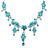 Blue Zircon Necklaces
