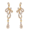 L'Amour Earrings - Clear (Gold Plated)