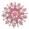 Small Flower Brooch - Pink