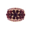 Bonnie Ring - Purple (Gold Plated)