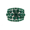 Bonnie Ring - Emerald (Silver Plated)