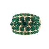 Bonnie Ring - Emerald (Gold Plated)