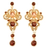 Duchess Earrings - Brown