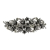 Wild Flower Hair Clip - Black