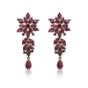 Fleur Earrings - Fuchsia