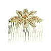 Larissa Hair Slide - Brown