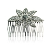 Larissa Hair Slide - Black