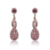 Madelena Earrings - Pink