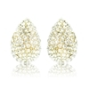 Tasia Earrings - Clear (Gold Plated)