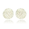Capri Earrings - Clear (Gold Plated)