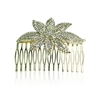 Larissa Hair Slide - Clear (Gold Plated)