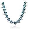 Teresa Necklace - Blue Zircon