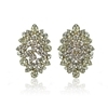 Mariella Earrings - Clear (Gold Plated)