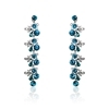 Teresa Earrings - Blue Zircon