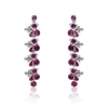 Teresa Earrings - Fuchsia