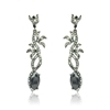 Layla Earrings - Black