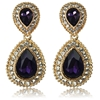 Arabella Earrings - Purple