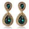 Arabella Earrings - Emerald