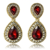 Arabella Earrings - Red
