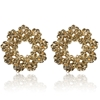 Elaina Earrings - Brown