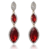 Arya Earrings - Red