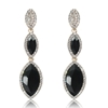 Arya Earrings - Black