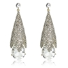 Cherie Earrings - Clear (Gold Plated)