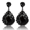 Charlotte Earrings - Black