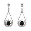 Estella Earrings - Black
