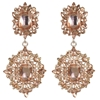 Heidi Earrings - Peach