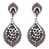 Karina Earrings - Purple (Silver Plated)