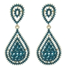 Kathrina Earrings - Blue Zircon