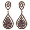Kathrina Earrings - Purple (Gold Plated)