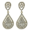 Kathrina Earrings - Clear (Gold Plated)