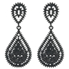 Kathrina Earrings - Black