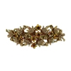 Wild Flower Hair Clip - Brown